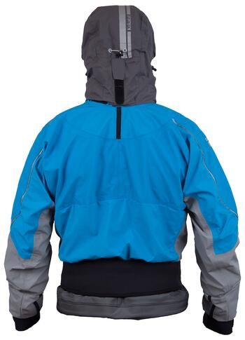 Kokatat Passage Gore-Tex SwitchZip Mens Anorak rojakke - ElectricBlue/Black
