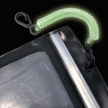 Seattle Sport DryDoc Coiled Tether sikringsstropper - Glow