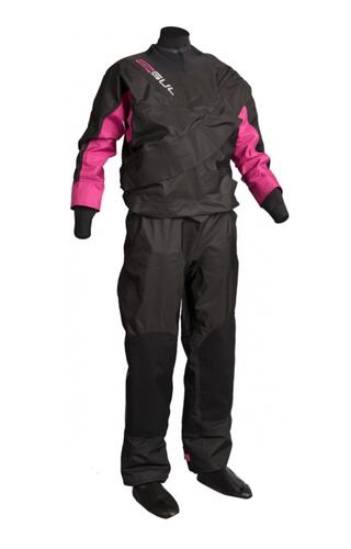Gul Dartmouth Womens Eclip Zip Drysuit dametørdragt - Black/Pink