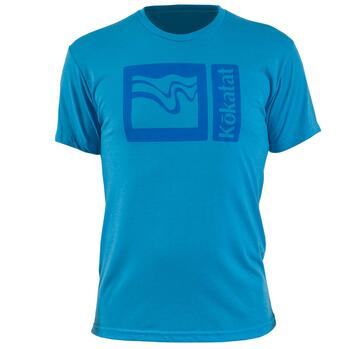 Kokatat Logo T-shirt - Electric Blue
