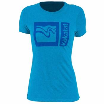 Kokatat Logo Womens T-shirt - Electric Blue