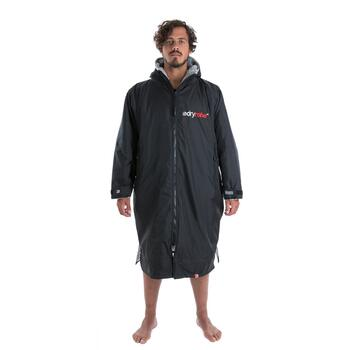 DryRobe Advanced Long Sleeve poncho Black/Grey