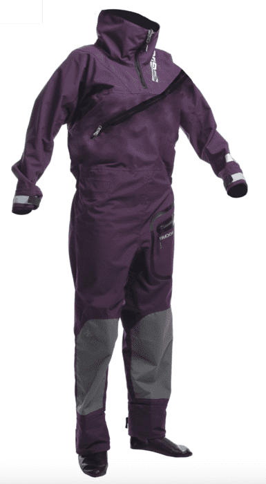 Gul Shadow Womens Halo Drysuit dametørdragt