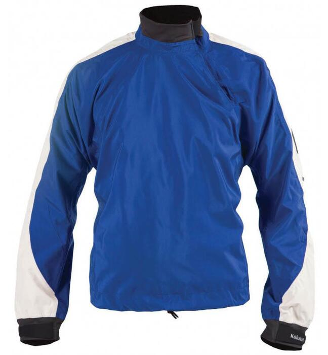 TILBUD: Kokatat Super Breeze Tropos Mens Jacket rojakke - Azul