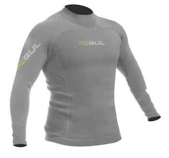 Gul Code Zero 0,5 mm Thermo Top LS neoprentrøje