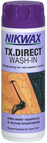 Nikwax TX.Direct Wash-In imprægnering 300 ml