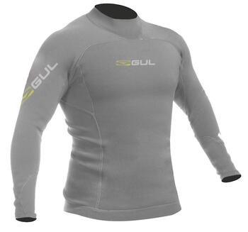 Gul Code Zero 3 mm Thermo Top LS neoprentrøje