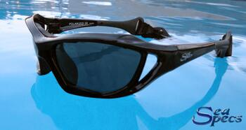 SeaSpecs Stealth Black solbrille