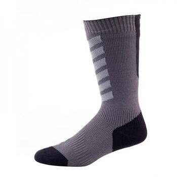 Sealskinz Mid Weight Mid Length Hydrostop Sock vandtæt sok