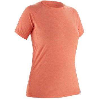 NRS H2Core Silkweight Womens Tee - Cayenne